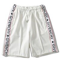 Givenchy Women Men Fashion Casual Shorts