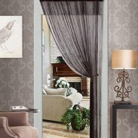 String Curtain, Thread Curtain, Fringe Panel Blind Room Divider 55x84