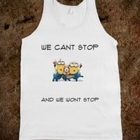 MINIONS CANT STOP