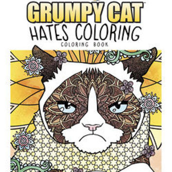 Creative Haven Grumpy Cat Hates Coloring : Coloring Book by Diego Jourdan Pereira (Paperback): Booksamillion.com: Books