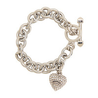 Juicy Couture Juicy Pave Icon Bracelet Silver - Zappos.com Free Shipping BOTH Ways