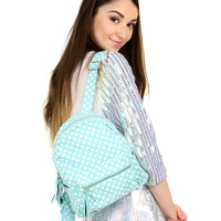 ITTY BITTY POLKA DOTS BACKPACK