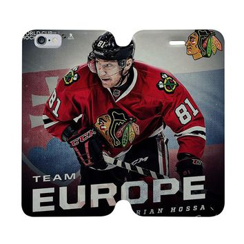 BLACKHAWKS HOCKEY CHICAGO CAPTAIN MORGAN Wallet Case for iPhone 4/4S 5/5S/SE 5C 6/6S Plus Samsung Galaxy S4 S5 S6 Edge Note 3 4 5