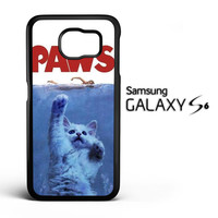 PAWS OVIE PARODY FUNNY CAT ATTACK F0586 Samsung Galaxy S6 Case