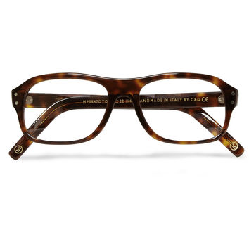 Kingsman - Cutler and Gross Tortoiseshell Acetate Square-Frame Optical Glasses | MR PORTER