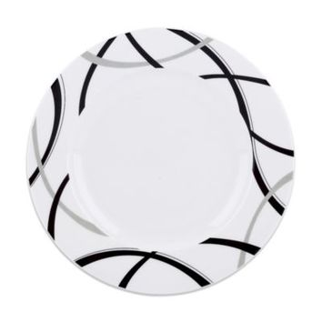 Lenox® Vibe Black & Grey 9-Inch Accent Plate
