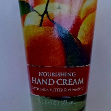 Bath & Body Works FRESH TANGERINES Nourishing Hand Cream 2 oz