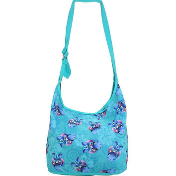 Loungefly Disney Lilo & Stitch Scrump & Stitch Print Hobo Bag