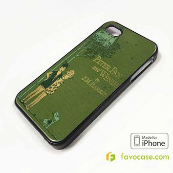 PETER PAN ANF WENDY iPhone 4/4S 5/5S/SE 5C 6/6S 7 8 Plus X Case Cover