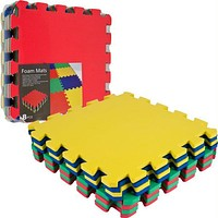 TG  Multi-Color EVA Foam Exercise Mat - 8 pc