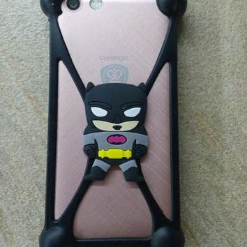 Cute Cartoon Batman hello kitty Silicon Case Cover phone Screen corner protection for DEXP Ixion M850 ML350 MS255 MS550 MS650