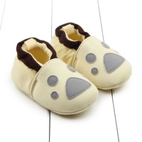 Baby Winter Slipper Winter Baby Boys Girls Warm Plush Booties Infant Indoor Soft Slipper Crib Shoes Baby Cartoon Shoes
