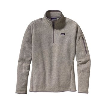 Patagonia Women's Better Sweater™ 1/4-Zip Fleece Pullover