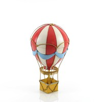 Vintage Hot Air Balloon Hancrafted Pendant Lamps