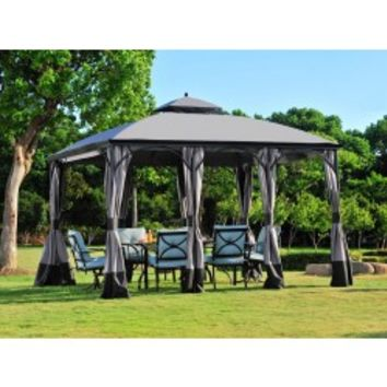Sunjoy Big Lots 10 x 12 Somerset Gazebo Replacement Canopy Fabric  sc 1 st  Wanelo & Sunjoy Big Lots 10 x 12 Somerset Gazebo from sunjoyonline.com