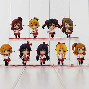 Japan Super Kawaii Anime Love Live! School Idol Project PVC Q Version Action Figures Toys