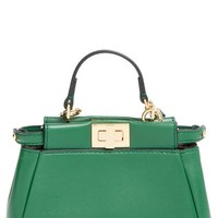 Fendi 'Micro Peekaboo' Nappa Leather Bag (Extra Small)