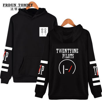 New Brand Sweatshirt Twenty One Pilots Number Women Kpop Hoodies Fashion Logo Hoodies And Hip Hop Fashion Style 4XL