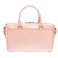 Saint Laurent 'duffle' Miniature Tote in Baby Pink