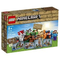 LEGO® Minecraft Creative Adventures Crafting Box 21116