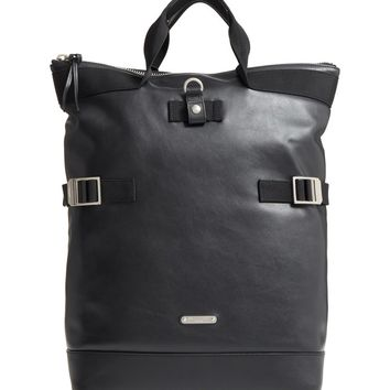 Saint Laurent Antibe Flat Leather Shopping Backpack | Nordstrom