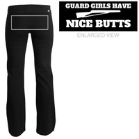 Guard Girls Butts Yoga: Mom Means Business