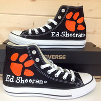 Ed Sheeran Converse All Stars BLACK