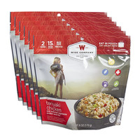 Wise Company Camping Meals - Teriyaki Chicken and Rice (Case of 6 Pouches)