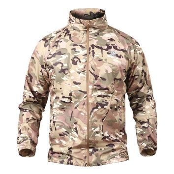 Multicam Woodland Windshell Quick Dry Skin Jacket UPF50+ Waterproof Raincoat Windbreaker Thin Military Hunter Clothes