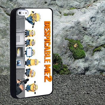 Despicable me 2 Case for iPhone 4/4s,iPhone 5/5s/5c,Samsung Galaxy S3/s4 plastic & Rubber case, iPhone Cover