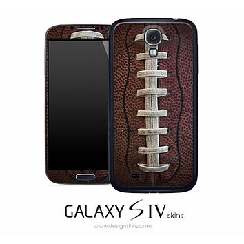 Football Lace Skin for the Galaxy S4