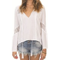 Billabong So Bazaar Ls - White - J5071SOB | Billabong US