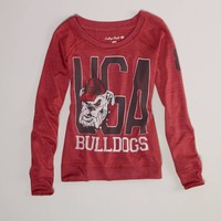 Georgia Vintage Long Sleeve T | American Eagle Outfitters