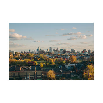 Downtown Detroit Art Print