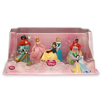 disney store princess figure playset 1 cake topper ariel jasmine new with box
