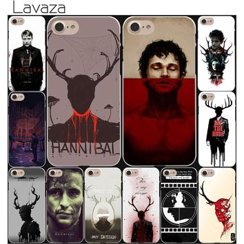 Lavaza Hannibal eat the rude Hard White Coque Shell Phone Case for Apple iPhone 8 7 6 6S Plus 5 5S SE 5C 4S X 10 Cove