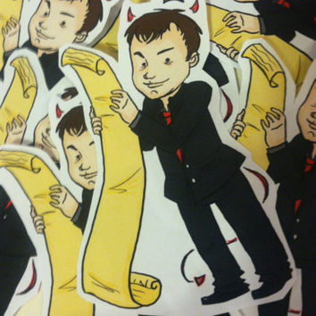 Supernatural Sticker - Crowley Is King