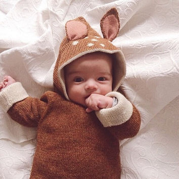 Baby Sweater Christmas Deer Design Sweaters Cardigan Girls Boys Knitted kids sweater tricot couture fille roupas infantis menino
