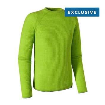 Patagonia Men's Merino Air™ Crew | Underwater Blue