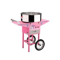 Great Northern Popcorn 6304 Vortex Machine with Cart and Electric Candy Floss Maker