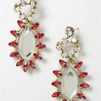 NWT $178 Anthropologie Montemurro Drops Earrings - By Tataborello, Italy