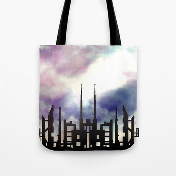 Cityskape Tote Bag by Moonlit Emporium
