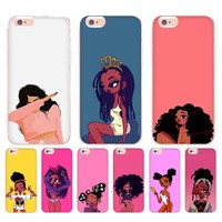 Melanin Babes iPhone Cases