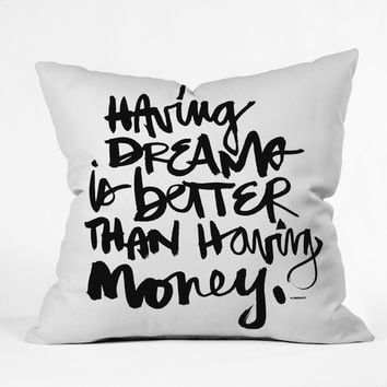 Kal Barteski Having Dreams 1 Throw Pillow