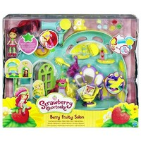 Strawberry Shortcake Berry Fruity Salon Figure Doll Playsets Exclusive