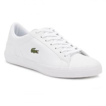 Lacoste Mens White Lerond BL1 CAM Trainers