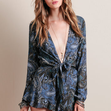 Like Magic Paisley Romper