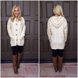 Cream Christmas Story Cable Knit Sweater
