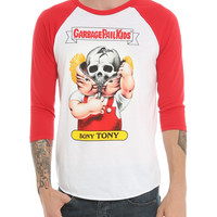 Iron Fist X Garbage Pail Kids Bony Tony Raglan