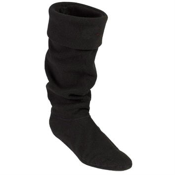 2016 Top Brand High Knitted Chunky Cable Cuff Fleece Welly Socks, M L size Socks For Tall Original Rain Boots,Free Shipping!